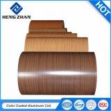 室内装飾のシートまたはパネルのための木の木質のある仕上げアルミニウムコイル