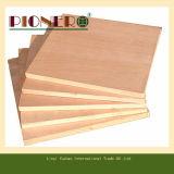 Madera contrachapada comercial de madera roja con precio bajo