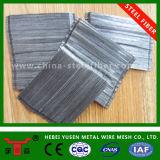 A extremidade em gancho coladas de fibras de aço