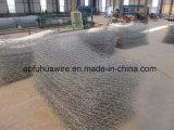 Fabrik-Zubehör galvanisierte Quadrat geschweißten Gabion Kasten, eingesperrten Wand-Stein