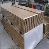 Decking composé en plastique en bois WPC de plancher extérieur