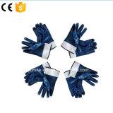 Нитриловые Anti-Cutting Джерси покрытием промышленной безопасности рабочие перчатки