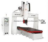 Máquina do router do CNC do Woodworking de 5 linhas centrais