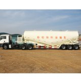 BPW ejes remolque de transporte de polvo de cemento a granel Bulker