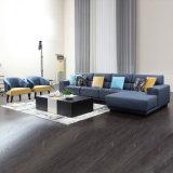 Nordischer Entwurfs-blaues Eckmöbel-Gewebe-Sofa für Haus
