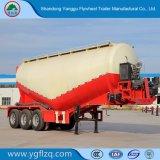 Neuer 3 Wellen-Kohlenstoffstahl-Masse-Kleber-Tanker/Becken-halb LKW-Schlussteil für Verkauf