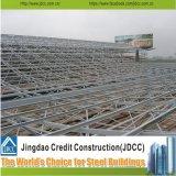 Costruzione di blocco per grafici prefabbricata chiara di alta qualità dello spazio della struttura d'acciaio