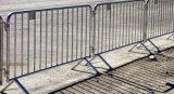 Изолированные защитный барьер, борьбы с беспорядками, HDG Stanchions временные ограждения