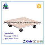 """Wood 4-Wheel Piano Carpeted Dolly """"Tipo de produto: suprimentos móveis / caminhões de mão e acessórios"""""""