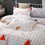 熱い販売の印刷されたMicrofiberの寝具の羽毛布団カバーシーツ