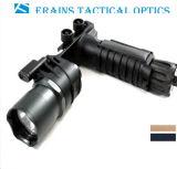 Erains Tac Optics Tactical 550 Lumens Screw Detach Dura Handgrip de alumínio e LED Light Lanterna LED Lanterna com lâmpada de leitura anexada
