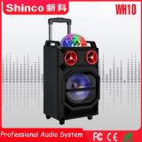 "LED 빛을%s 가진 Shinco 직업적인 Bluetooth 무선 10 "" karaoke 스피커"