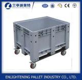 пластичный контейнер паллета 1200X1000 с продажной ценой колеса