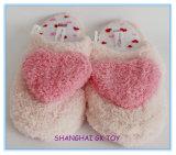 Rosafarbene Frauenschuh-Innenhefterzufuhren