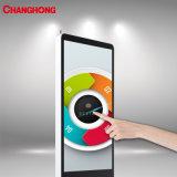 55 pulgadas Ls1000A (TH) Cms Upstand Tótem de la pantalla táctil LCD de pantalla Digital Signage Publicidad