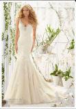 2016 off-Ombro Lace Crystal Suite vestidos de Casamento (2803)