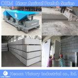 Máquina ligera del panel del muro de cemento del producto de la estrella y los paneles de pared ligeros del cemento
