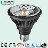 Dimmable E27 / E26 / B22 80ra / 90ra CREE Chips Scob Patent Leiso LED PAR30