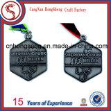 Верхней медаль спорта металла высокого качества надувательства подгонянное ценой по прейскуранту завода-изготовителя