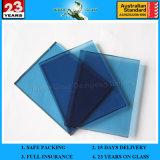 4m m Grenn/precio de cristal reflexivo gris/azul/del bronce/del oro de la capa dura para el vidrio del edificio