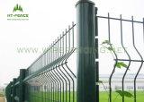 プラスチック上塗を施してある電流を通されたチェーン・リンクの塀のパネル