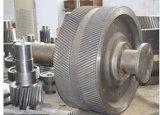 Fábrica de aço forja o Eixo da Engrenagem Cilíndrica da China