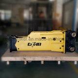 セリウムが付いている小さい油圧ジャックハンマーまたは掘削機PC55mrの油圧ブレーカ