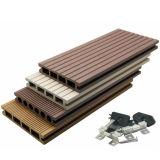 Decking composé en plastique en bois du panneau WPC de 120*25mm