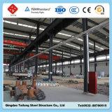 Taller ligero prefabricado del marco de acero de la fabricación
