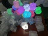 Licht van de Lamp van de ronde en Vierkante Opblaasbare Zonne LEIDENE het Lichte Witte of Kleurrijke Slagen van de Lucht Navulbare Plastic