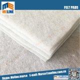 中国の競争価格の白のフェルトのパッド
