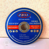 ステンレス製-350X2.8X25.4のための研摩の極めて薄い折り返しディスク