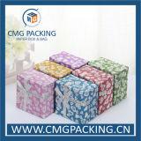 Caja de joyería brillante del papel del brillo (CMG-MAY-005)