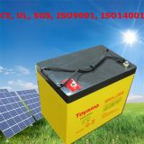 12 voltios de la batería del gel de célula de la batería de energía solar