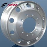 Погрузчик алюминиевого сплава обод колеса установлены на заводе обод колеса