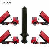 Veículos agrícolas o carregamento de caminhão basculante do cilindro hidráulico de ação simples