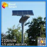 Lumières solaires pour le jardin de mur de rue avec le contrôleur sec