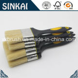 Tapered Filament Rubber Brushes with High Performance