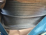 хорошее гальванизированное изготовление веревочки стального провода 6X37 для подниматься
