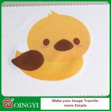 Qingyi waschbares helle Farben-bedruckbares Wärmeübertragung-Vinyl für Kleid