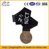 2018 Silver Award Promocionais Medalha de metal com fita preta