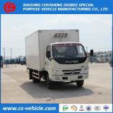 Foton 4X2冷却装置フリーザーのトラック小さい5tons冷却装置トラック