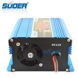 Carregador de bateria rápido esperto portátil da indicação digital 12V 10A de Suoer com Ce (DC-1210A)