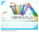 Crayons en plastique Sharp créatifs créatifs 3D pour étudiants et enfants
