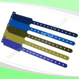 Hospital Custom Vinyl Plastic Wristbands Bracelet Bands (6060B1)
