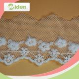 試供品の使用できるOekoの承認の熱い販売の純刺繍のレース