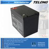 batería sin necesidad de mantenimiento de la energía solar 12V75ah