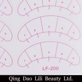10 paquets 700 paires d'oeil sans charpie complète des connexions d'oeil de Traning d'extensions de cils faux sous des garnitures de papier d'oeil