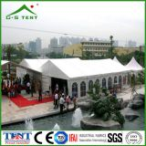 Grande tenda esterna della fiera commerciale
