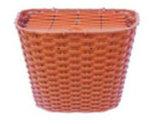 2016 Classic plástico de vime cestas coloridas para senhora Aluguer de bicicleta